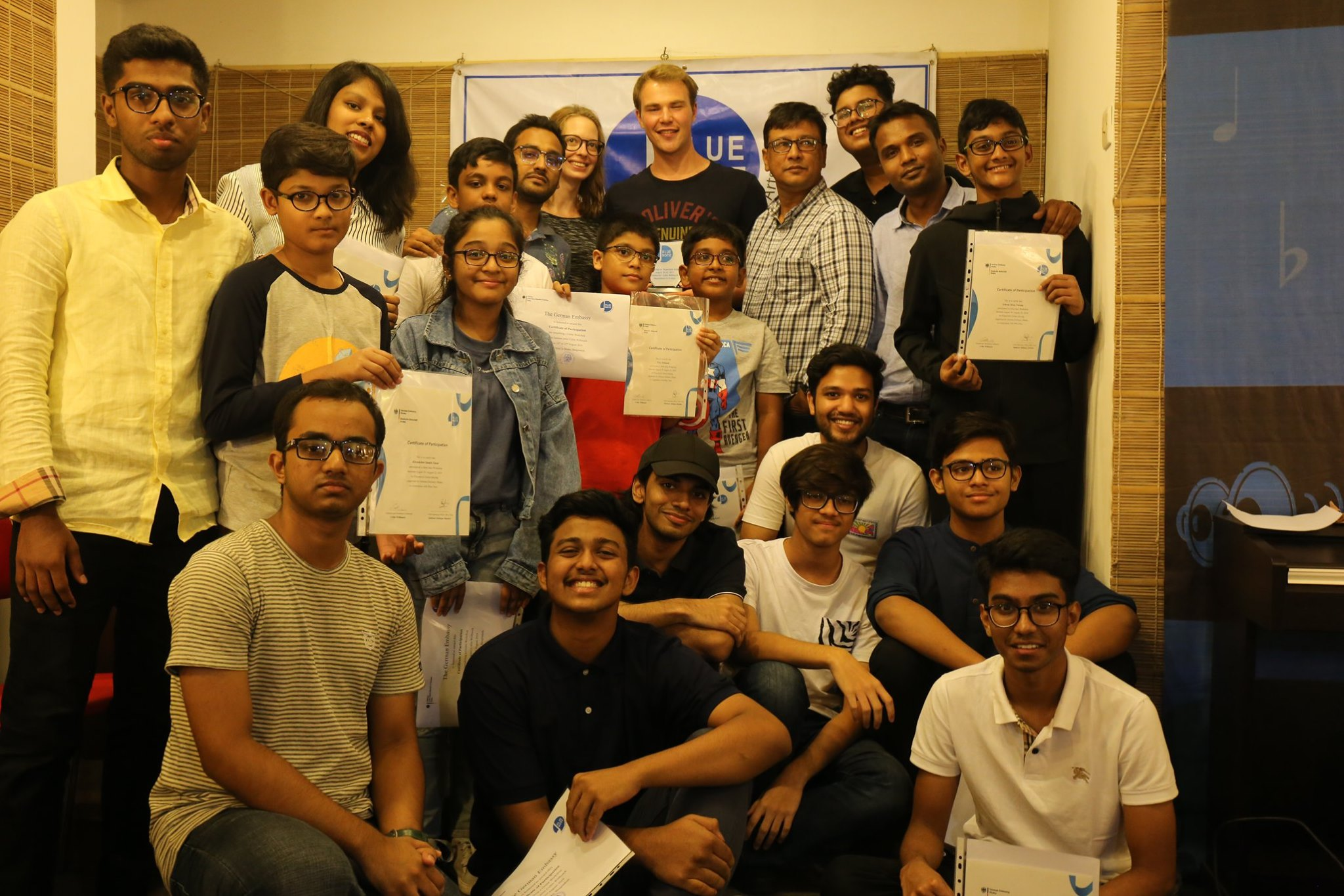 The German Embassy-Blue Note Workshop